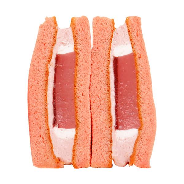 草莓布丁蛋糕三明治