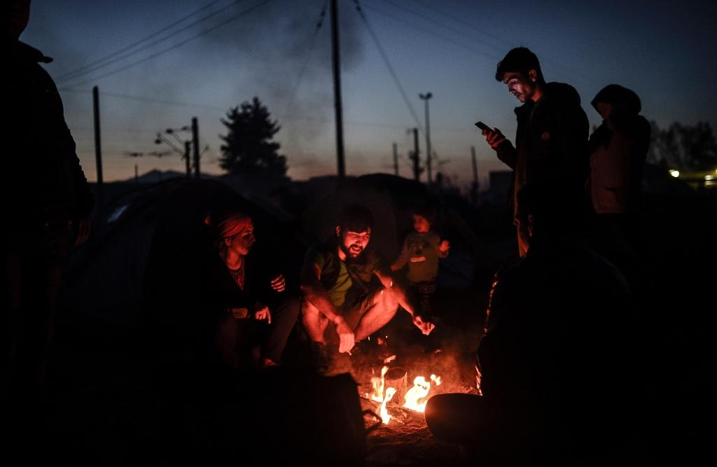 The vast majority of the record 1.25 million asylum-seekers arriving in Europe last year entered Greece after taking the dangerous sea route from Turkey (AFP Photo/Bulent Kilic)