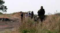 OSCE finds large piece of fuselage at airline crash site