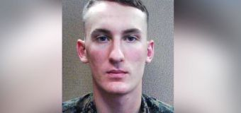 Manhunt for ex-Marine with 'high-powered rifle'