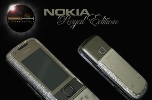 Nokia's 8800 gets more bling, more expensive, more ugly