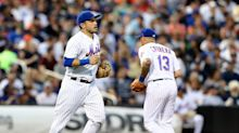 Mets rotate infielders 22 times to hide out of position catcher