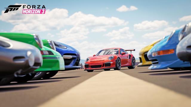 You can finally drive a Porsche in 'Forza'
