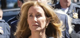 Felicity Huffman learns her prison sentence
