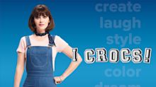 """Crocs Makes a Statement with Third Year of """"Come As You Are"""" Campaign Featuring Zooey Deschanel, Natalie Dormer & More"""