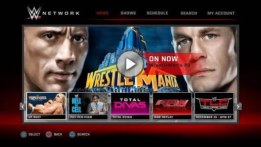 WWE Network app struts down console, mobile ramps today