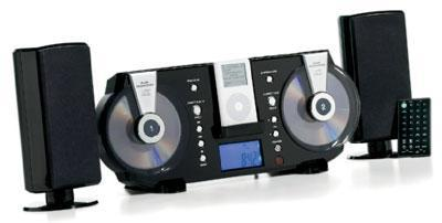Electro's 2-CD iPod stereo costs way too much