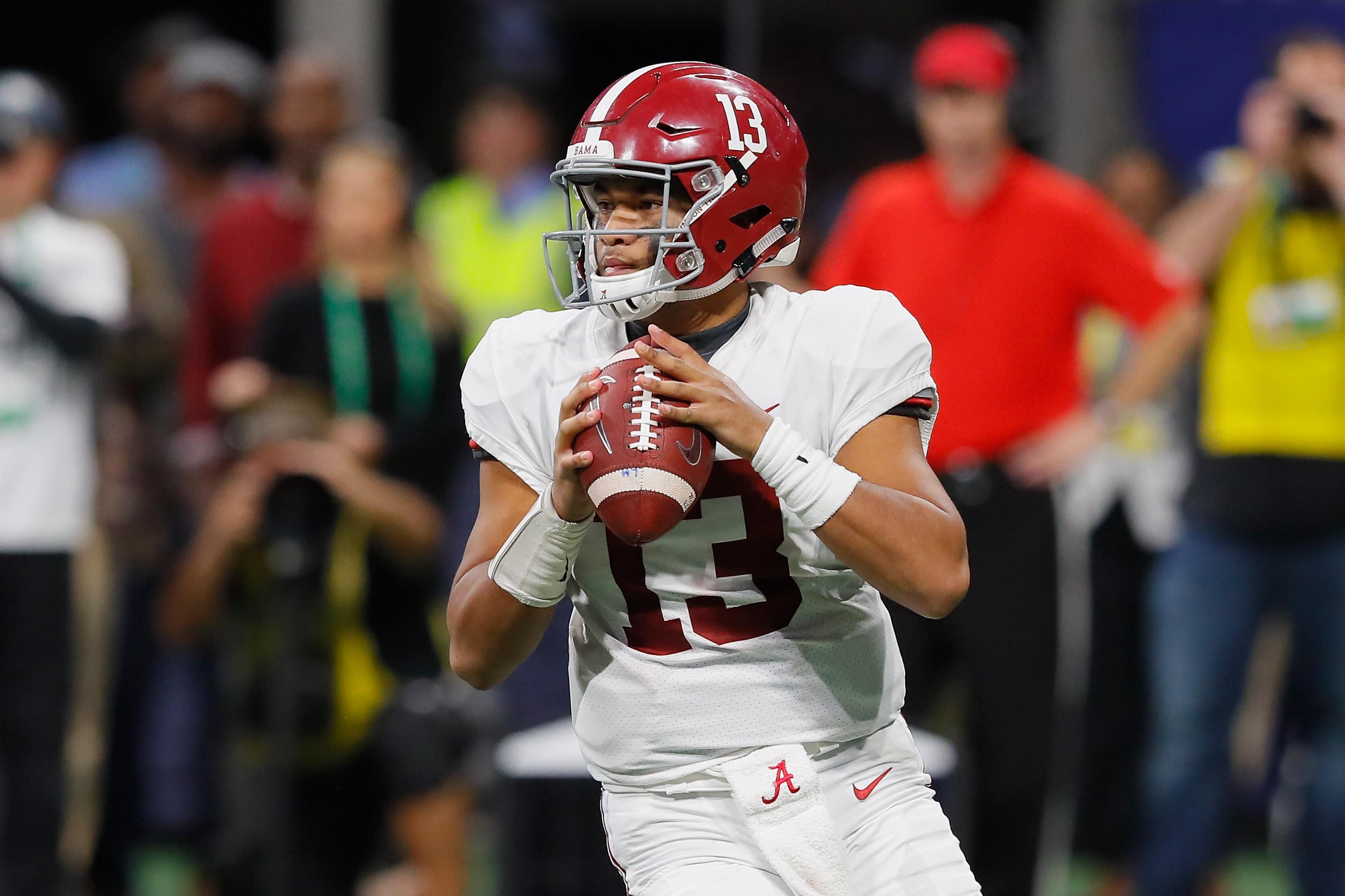 af7c283f9 The one knock the NFL has on Alabama star quarterback Tua Tagovailoa