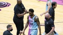 The captain: Haslem makes season debut, scores, gets ejected