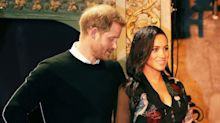 See Meghan and Harry get the giggles after teen drops the F-bomb while talking to them