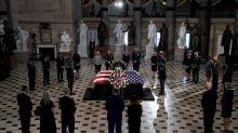 Ruth Bader Ginsburg, la primera mujer en estar en capilla ardiente en el Capitolio