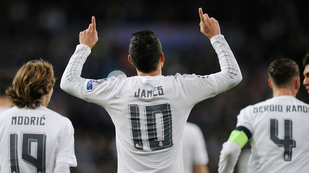"""Real Madrid destaca a James como """"un asistente de 10"""""""