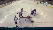 Heatley scores from his knees on Scrivens