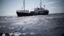 """Rettungsschiff """"Alan Kurdi"""" nimmt mit 125 Flüchtlingen an Bord Kurs auf Marseille"""