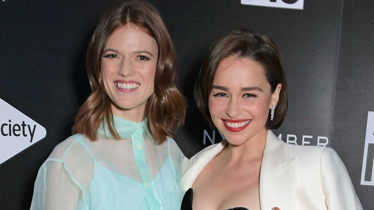 'GoT' Co-Stars Emilia Clarke and Rose Leslie Robbed by ...