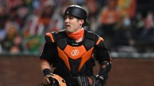 Giants catchers have more interferences in 2020 than in Posey's career