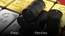 Petróleo alcista, Oro y Plata zonas lateral. ¿Cómo podemos trabajar en el corto plazo?