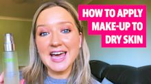How to apply make-up to dry skin