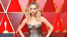 Jennifer Lawrence und ihr Weinglas werden zum Internet-Hit