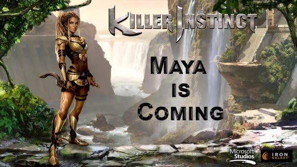 Amazon queen Maya returns in Killer Instinct season two