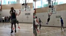 Basketball world goes nuts over viral LeBron-Simmons clip