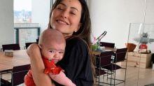 Sabrina Sato malha com Zoe no colo e mostra mais uma vez que ser mãe não é para iniciantes
