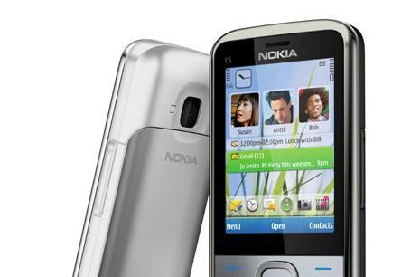 Nokia C5 arrives with S60 3rd edition OS pretending to be a 'smartphone'