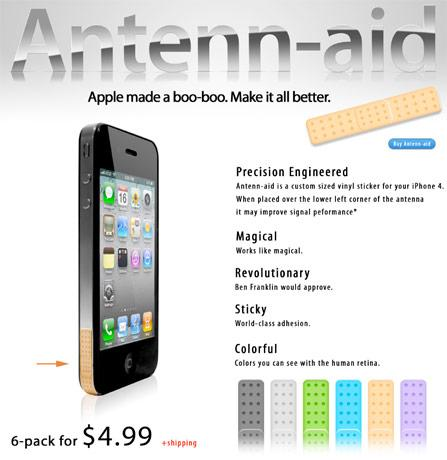 Antenna-aid bandages your iPhone 4 reception issue, hopes for role in next Eminem video