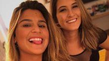 Filha de Fátima Bernardes nega namoro com Giulia Costa