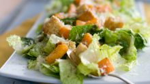 'Bit of protein': Woman's nasty discovery in Coles caesar salad
