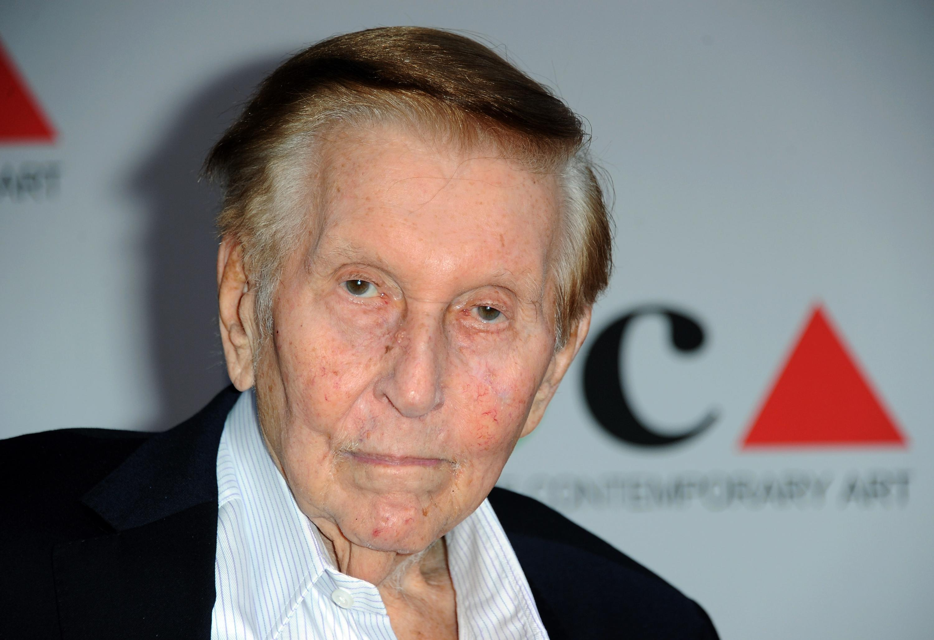The Latest: Lawyer says woman trying to protect Redstone