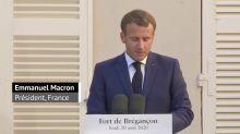 "PSG/Bayern - Macron met en avant ""l'amitié franco-allemande"" avant la finale"