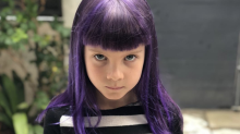 P!nk's daughter, 7, now has purple hair. How safe is dye for kids?