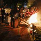 Radical groups at George Floyd protests