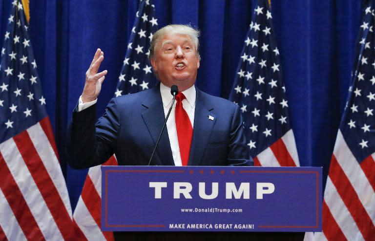 Donald Trump announces run for the White House
