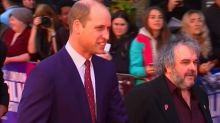 Prince joins Peter Jackson for WW1 premiere