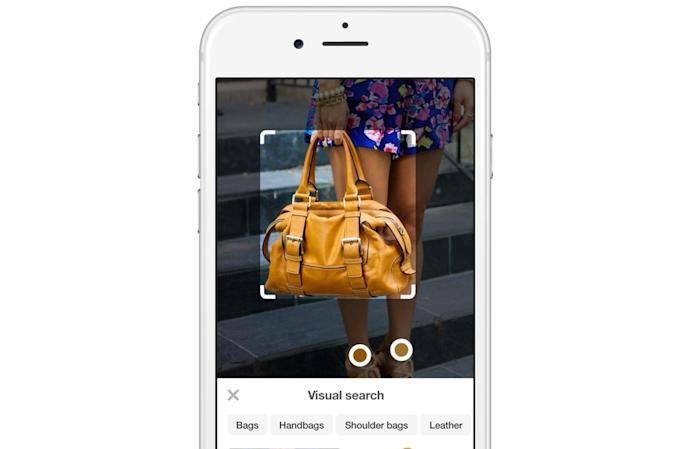 Pinterest wants you to shop for an item by taking its picture