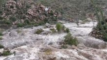 Arizona rescue agencies airlift stranded hikers from floodwaters; 2 remain trapped