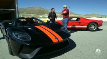 Ford makes a special delivery as Jay Leno receives his ultra-rare 2017 Ford GT