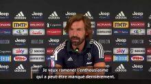 """Juventus - Pirlo : """"Retrouver l'état d'esprit que nous avions avec Conte"""""""