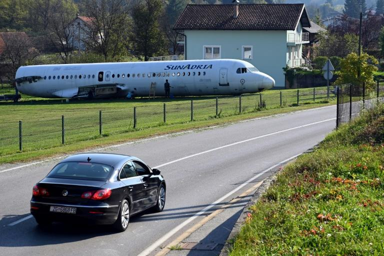 The Croatian said he plans to rent the aircraft for weddings and children's parties (AFP Photo/Denis LOVROVIC)