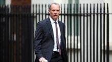 UK's Raab says clear Uighurs in China suffered human rights abuses