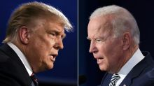 Trump-Biden, round one: taxes, protests, and lots of insults