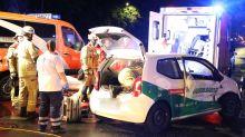 Polizei und Feuerwehr: Blaulicht-Blog: Zwei Menschen bei Autounfall verletzt