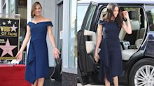 Meghan Markle and Jennifer Garner twin in Roland Mouret: Celebrities who have worn the same outfits