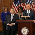 2 articles of impeachment against President Donald Trump unveiled by Dems following hearings, IG report inquiry
