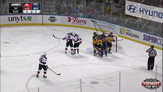 New Jersey Devils at Buffalo Sabres - 01/04/2014