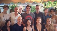 Canadian PM Justin Trudeau hangs out with the X-Men on Dark Phoenix set