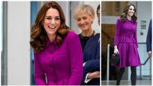 Kate Middleton steps out in $16k designer skirt suit