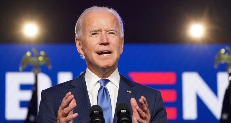 Investors likely relieved about networks calling U.S. presidential election for Biden